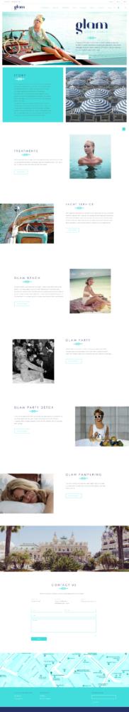 Glam Monte Carlo website