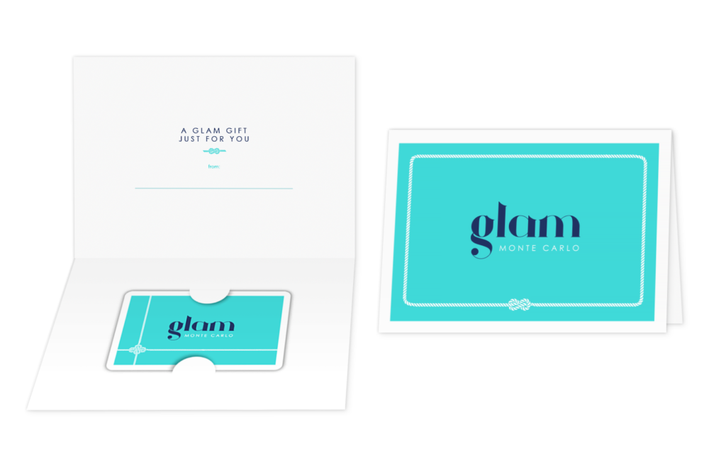 Glam Monte Carlo giftcard